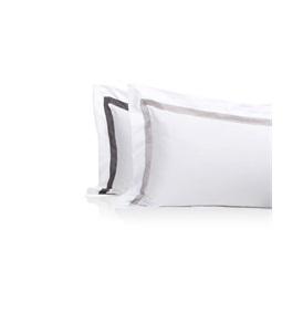Border Oxford     - Standard Pillowcases