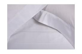 Finibus Embroidery  - White