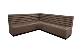 Lined Banquette Seat