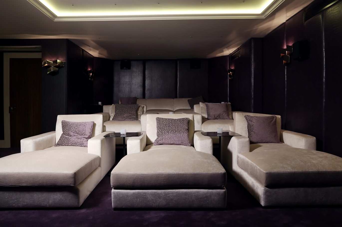cinema room the sofa chair company. Black Bedroom Furniture Sets. Home Design Ideas