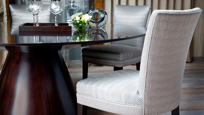 Luxury Upholstered Dining Chairs Designed And Handmade In