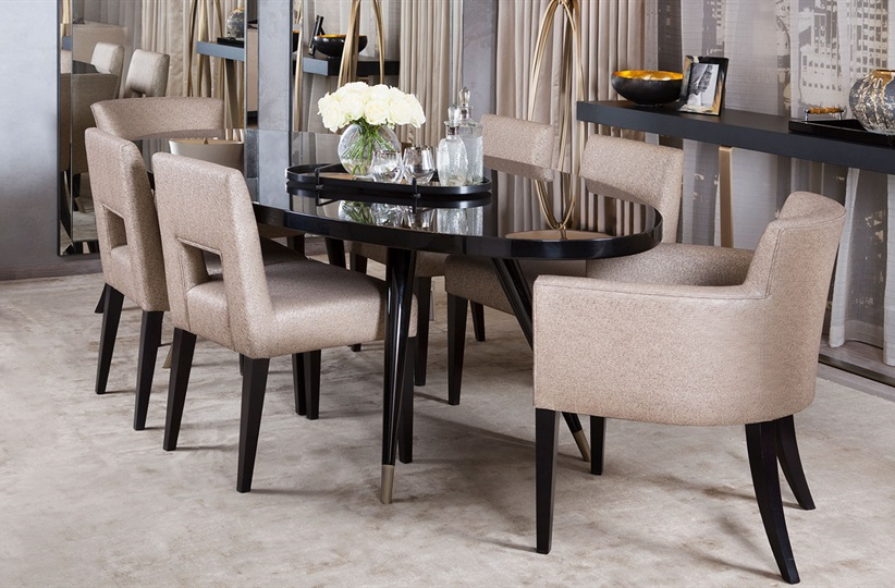 The hugo dining chair the sofa and chair company for Sofa company