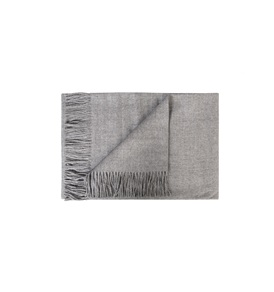 Tassled Throw Silver