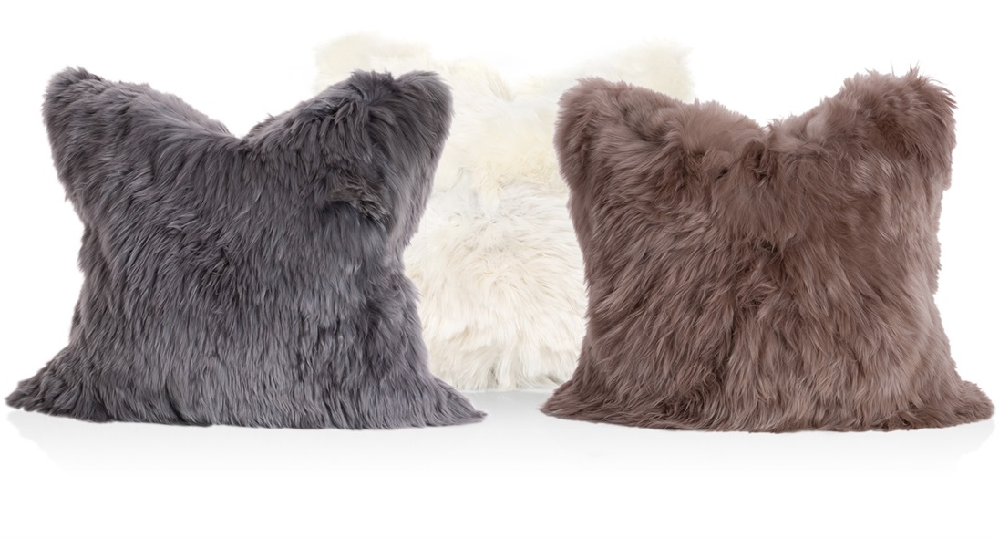 The Alpaca Fur Cushions The Sofa And Chair Company