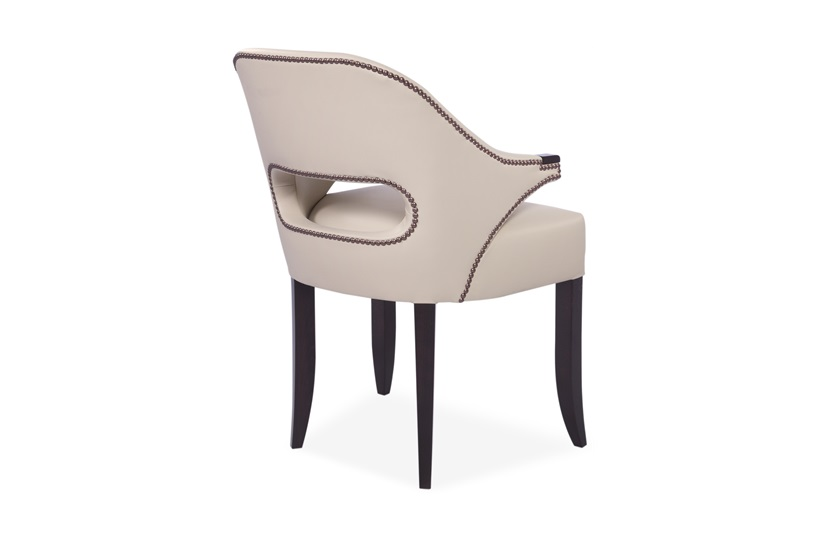 Bespoke leather dining chairs the sofa chair company for What is bespoke leather
