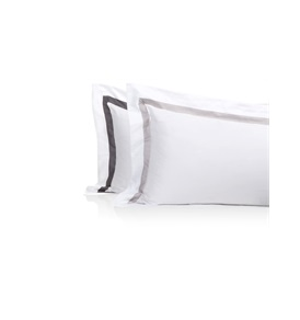 Border Oxford     - Standard Pillowcases