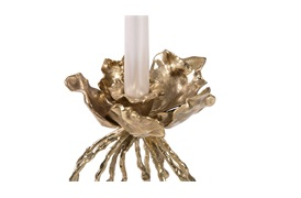 Water Hyacinth Candle Holder