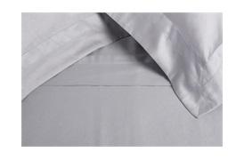 Tempace Jacquard Super King Duvet Set with Standard Pillowcases Grey