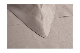 Tempace Jacquard Oxford Pillowcases Mocha