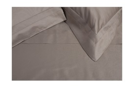 Tempace Paisley Housewife Pillowcases Mocha - standard