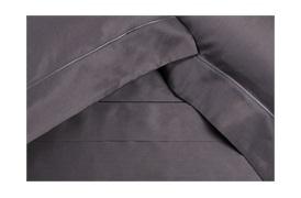 Finibus Grey             Embroidery  Duvet Set