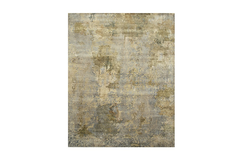 Danio Rug 240x300cm in Ivory & Greens