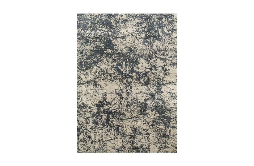 Silva Rug 250x300cm in Blue & Grey/Beige
