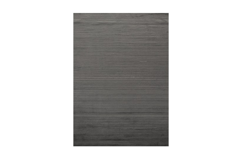 Hari Stripe Rug 200x300cm in Titanuim Grey