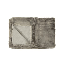 Chatreux Faux Fur Throw