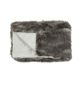 Comanche Faux Fur Throw
