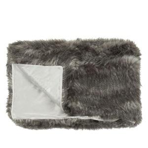 Comanche Faux Fur Throw