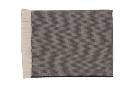 Johnstons of Elgin Throw     Herringbone