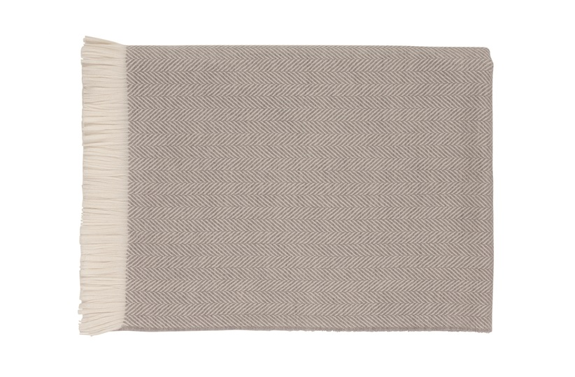 Herringbone Bed Throw