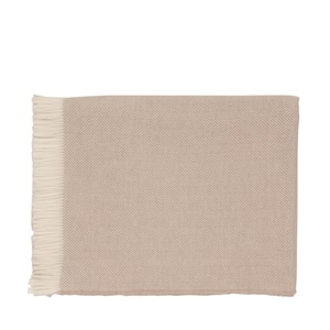 Johnstons of Elgin Bed    Throw   Herringbone