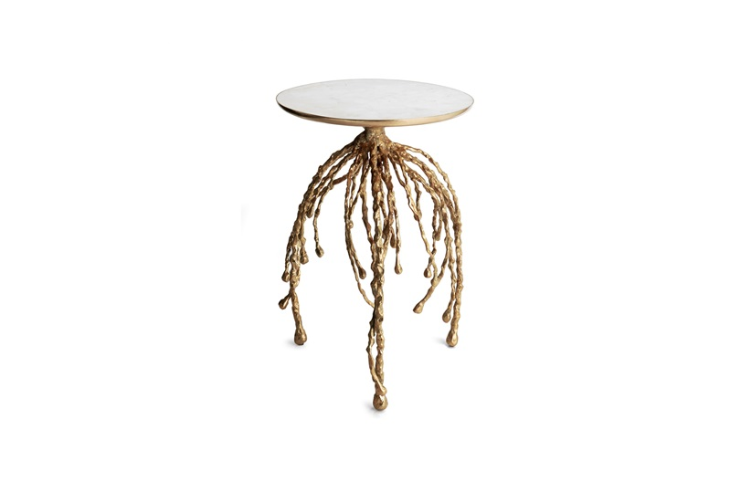 Water Hyacinth Side Table