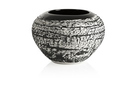 Exclusive Magma S Round Vase (Black)