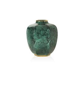 Malachite Geo Vase