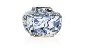 Marble Oval Vase