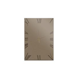 Titanium Mirror/Clock