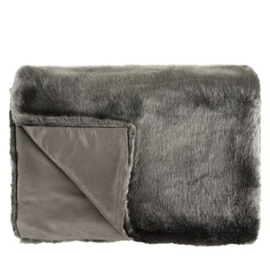 Courchevel Faux Fur         Throw
