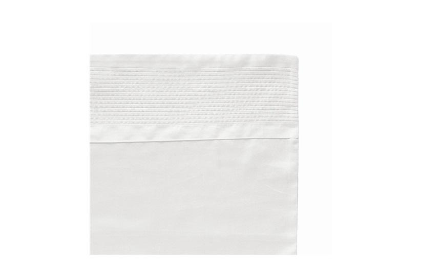 Piacenza Super King            Duvet Cover White