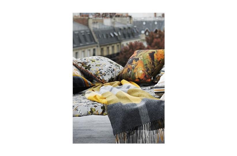Jean Paul Gaultier Plaid Fragment Throw