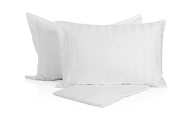Caily Jacquard King Size Set - White