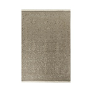 Dahl Traditional Rug 250x315cm in Beige & GREY