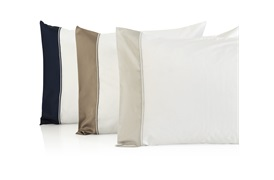 Varenna Super king Size Set Navy with Standard Pillowcases