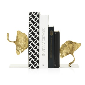 Ginkgo Bookends