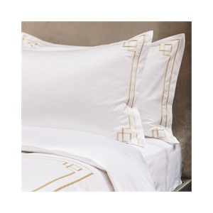 Peter Reed 600tc Hera   Duvet Set in Metallic Stone
