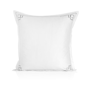 Peter Reed Hera Oxford Pillowcase - Metallic Silver
