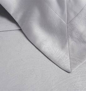 Tempace Jacquard Super King Duvet Set Grey