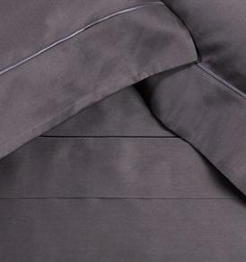 Finibus Grey Emperor        Embroidery Duvet Set