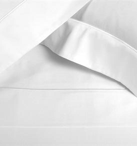 Finibus White Double           Embroidery Duvet Set