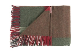 Jean Paul Gaultier Plaid Fragment Throw