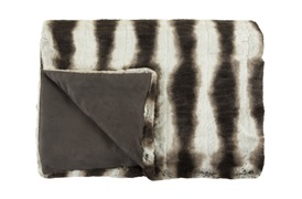 Chinchilla Two Tone Throw