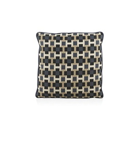Pavage Navy Cushion