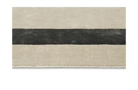 Austen Border Rug 200x300cm Grey & Gunmetal
