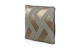 Funky Stripe Noir Cushion