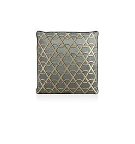 Ribbon Charcoal Cushion
