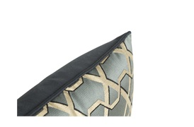 Ribbon Charcoal Cushion