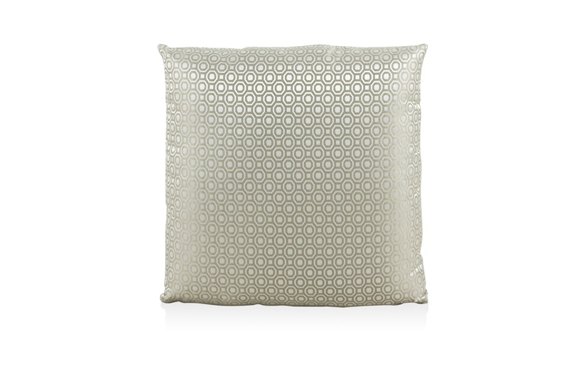 Octagon Beige Cushion