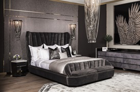 Peter Reed 600tc Hera   Duvet Set in Metallic Silver